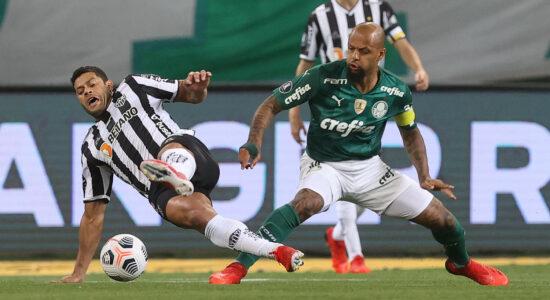 Atlético-MG quer anular gol do Palmeiras que garantiu vaga na final da Libertadores