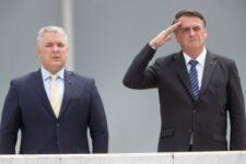 Bolsonaro e Ivan Duque