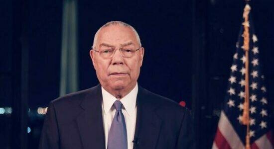 Colin Powell morreu nesta segunda-feira