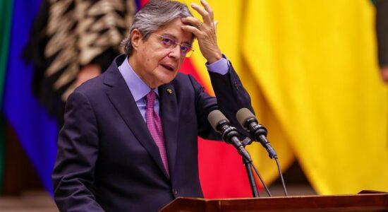 Presidente do Equador, Guillermo Lasso