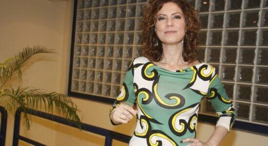Patricia Pillar participa da gravacao do Som Brasil