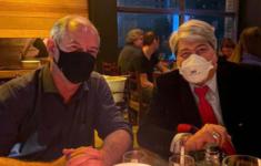 Ciro Gomes em jantar com Datena