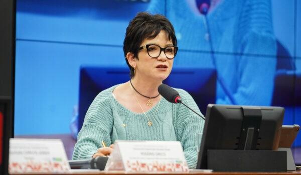 Deputada federal Alê Silva