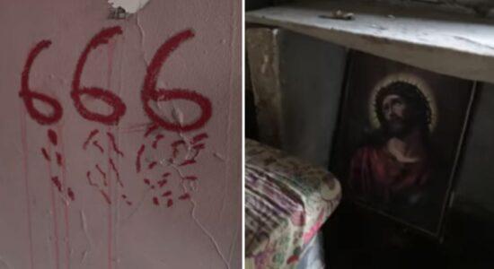 casa abandonada onde homem matou catador