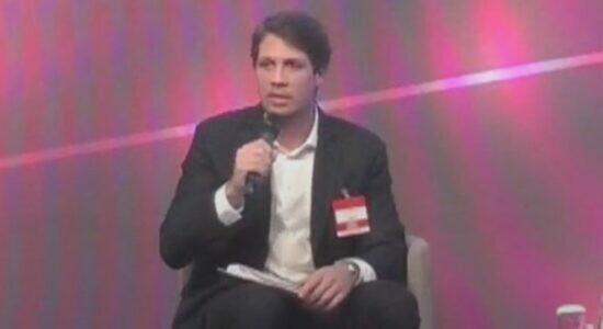 João Doria Neto durante evento em SP