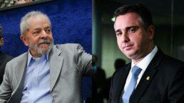 Lula e Rodrigo Pacheco