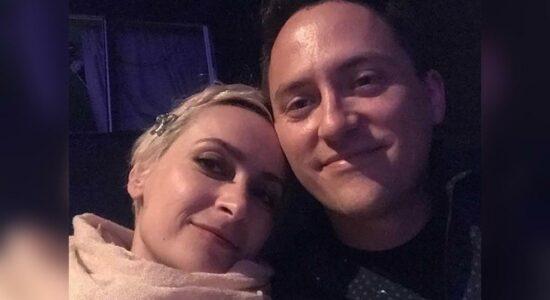 Halyna Hutchins e o marido, Matthew Hutchins
