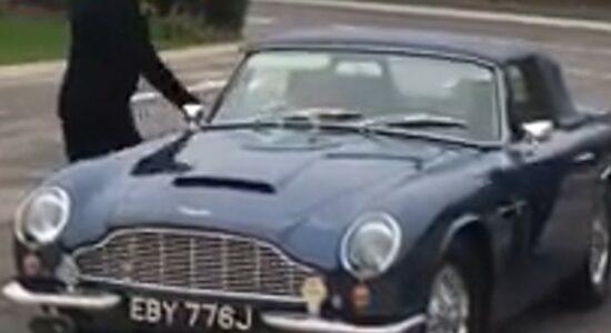 Aston Martin DB6 do Príncipe Charles