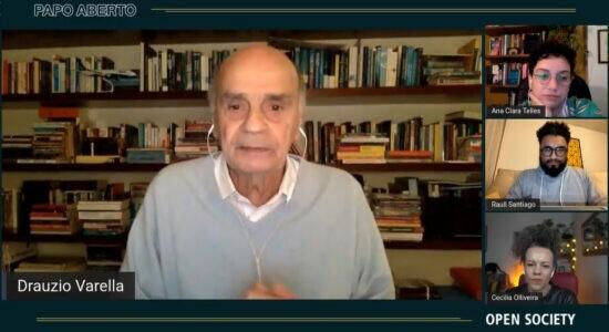 Drauzio Varella em debate da Open Society