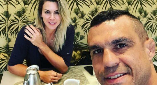 Joana Prado e Vitor Belfort